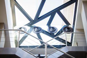 σκάλες κλιμακοστάσια glass inox
