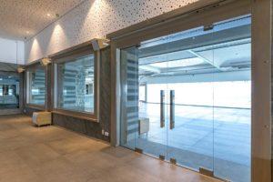 κατασκευή από γυαλί κατασκευή από inox glass inox cavo paradiso αυτόματες πόρτες